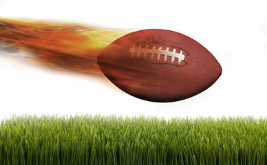 Football on Fire.