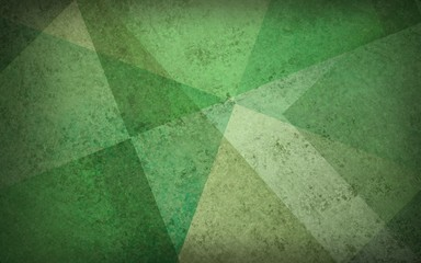 abstract yellow green background with texture and layers of random abstract shapes and angles