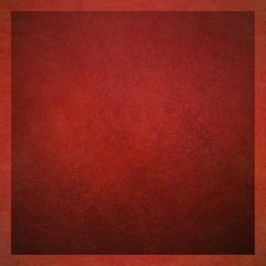 dark red background with thin light red border and vintage texture