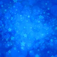 blue star background lights in random pattern