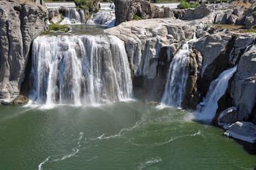 Beautiful Shoshone Falls in Idaho, USA