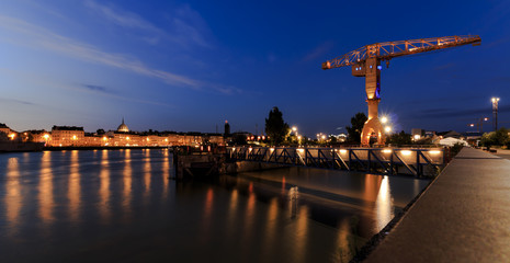 Nantes by night Fotomurales