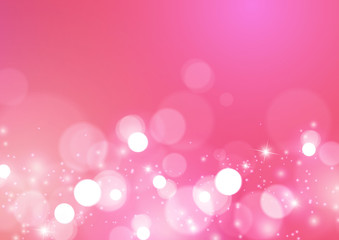 Abstract Lights Romantic Background