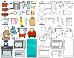 Kitchen tools and equipments
