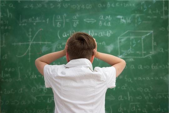 Schoolboy have problem with  formulas
