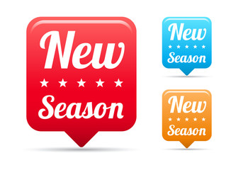 New Season Tags