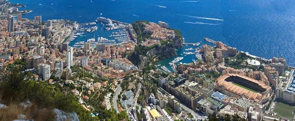the rock the city of principaute of monaco and monte carlo