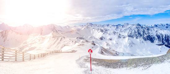Alpenpanorama Ischgl in Tirol