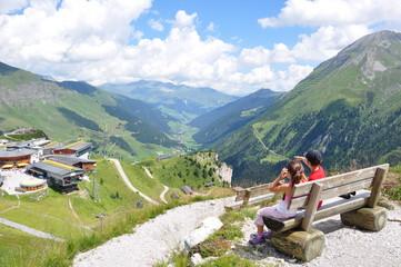 Aussicht an der Sommerbergalm / Zillertal