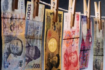 돈세탁  資金洗浄 काले धन को वैध बनाना  मनी लॉन्डरिंग 洗錢 การฟอกเงิน