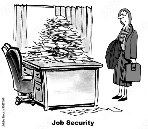job security Dealing with today's lack of job security can be stressful we'll show you ways to handle the stress - so you can take control of your situation.