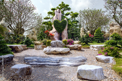 The Million Years Stone Park in Pattaya, Thailand
