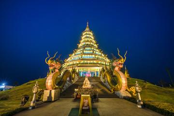 Temple wat hyua pla kang (Chinese temple) Chiang Rai