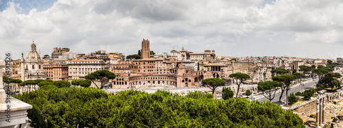 Rom Skyline from Terrace of the Chariots | terrazza delle quadrighe ...