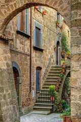Wall Mural - Old town Tuscany Italy