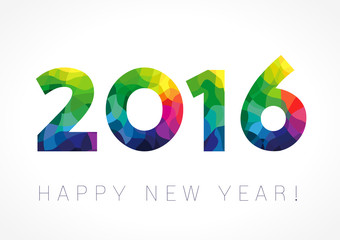 2016 new year color card