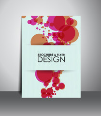 Flyer or brochure design.