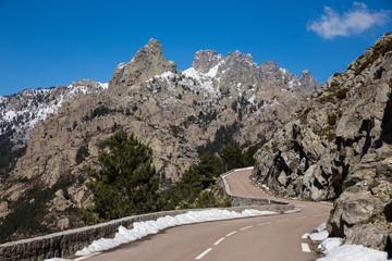 Route du col de Bavella Corse du Sud