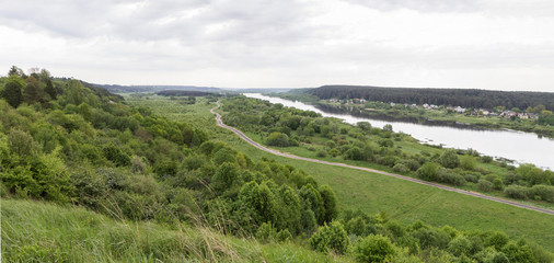 top view panorama