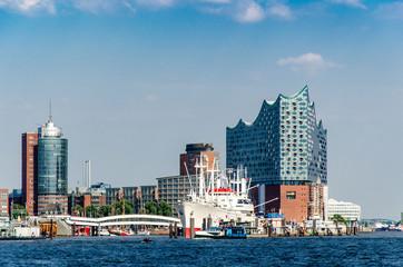 Gebäude am Hamburger Hafen