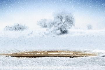 winter snow space