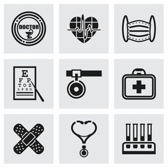 Vector Medical icon set