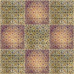 Fotomurales - Brown background. Ceramics