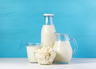 Fotobehang Zuivelproducten healthy dairy products