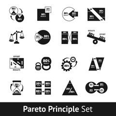 Pareto Diagram Set