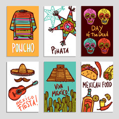 Mexico Poster Set