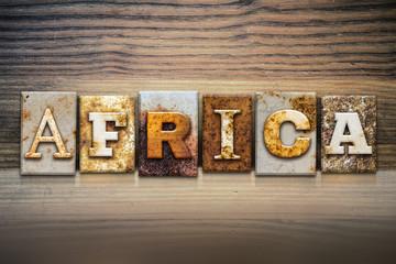 Africa Concept Letterpress Theme