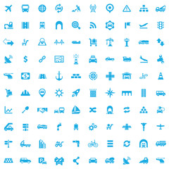 infrastructure 100 icons universal set