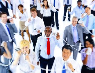 Business People Communication Telecommunication Concept