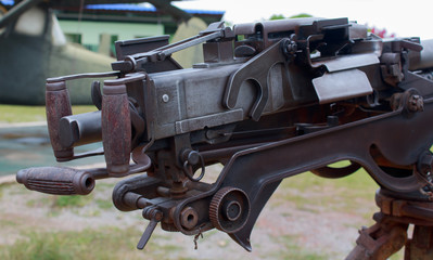 The gun barrel