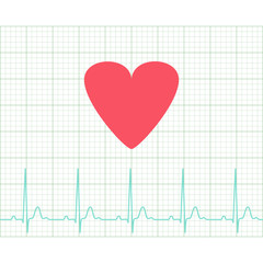 EKG - Medical electrocardiogram