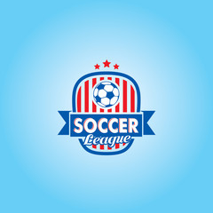 Soccer Football Vector Logo Template