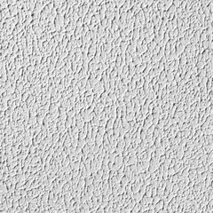 White wall with plaster, seamless texture