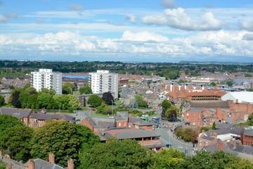 Fototapeta View of Chester city skyline obraz
