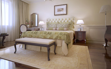Idea of master english bedroom