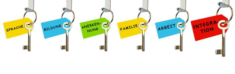 Schlüssel zur Integration