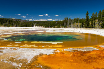 Beauty Pool at Upper Geyser Basin