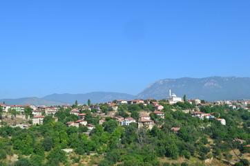 safranbolu weltkulturerbe panoramablick