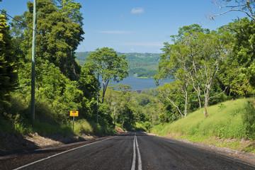 Road to Lake Baroon