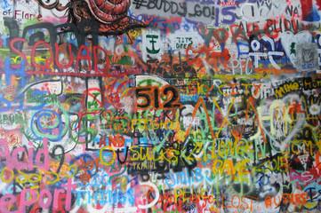 Graffiti in der Stadt