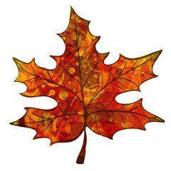 leaf with