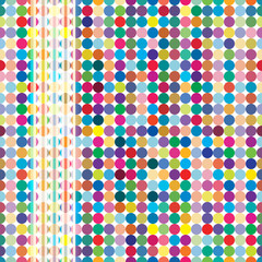 Multicolor abstract bright background with circles.