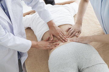 Women being treated for hip