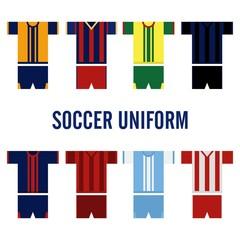 Soccer Uniform Logo Template
