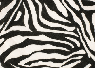 Black and white zebra pattern. Striped animal print as background.