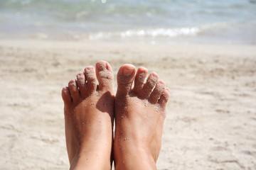 Füße hoch und entspannen!